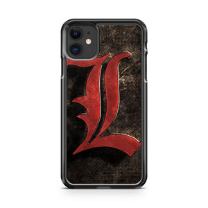 Anime Death Note Symbol iPhone 11 Case Cover | Overkill Inc.