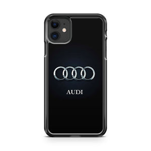 Audi Carbon Logo iPhone 11 Case Cover | Overkill Inc.