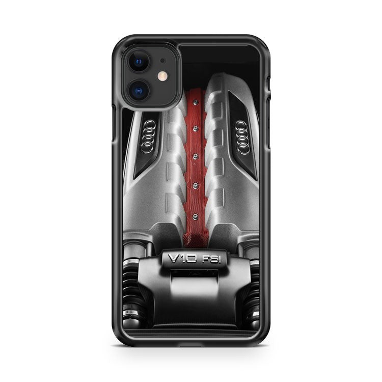 Audi R8 Gt V10 Engine High Performance Car iPhone 11 Case Cover | Overkill Inc.