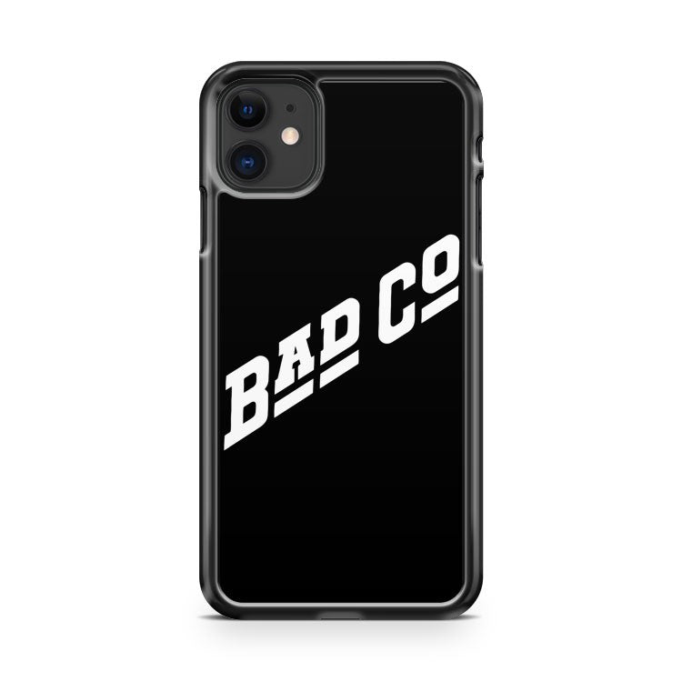 Bad Company Co Classic Rock Band 1974 Retro Vintage iPhone 11 Case Cover | Overkill Inc.