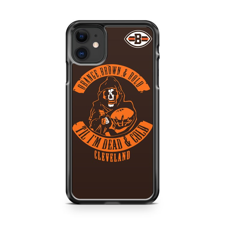 Cleveland Browns NFL iPhone 11 Case Cover | Overkill Inc.