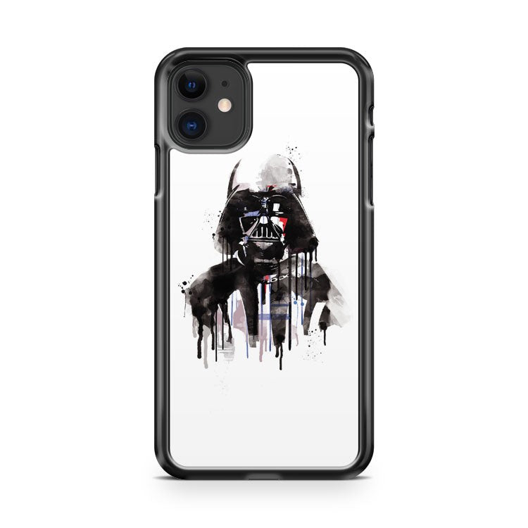 Darth Vader Watercolor iPhone 11 Case Cover | Overkill Inc.