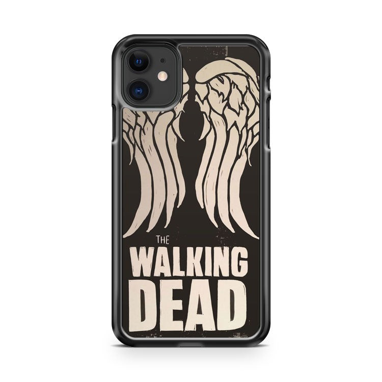 Daryl Dixon Walking Dead Wing iPhone 11 Case Cover | Overkill Inc.