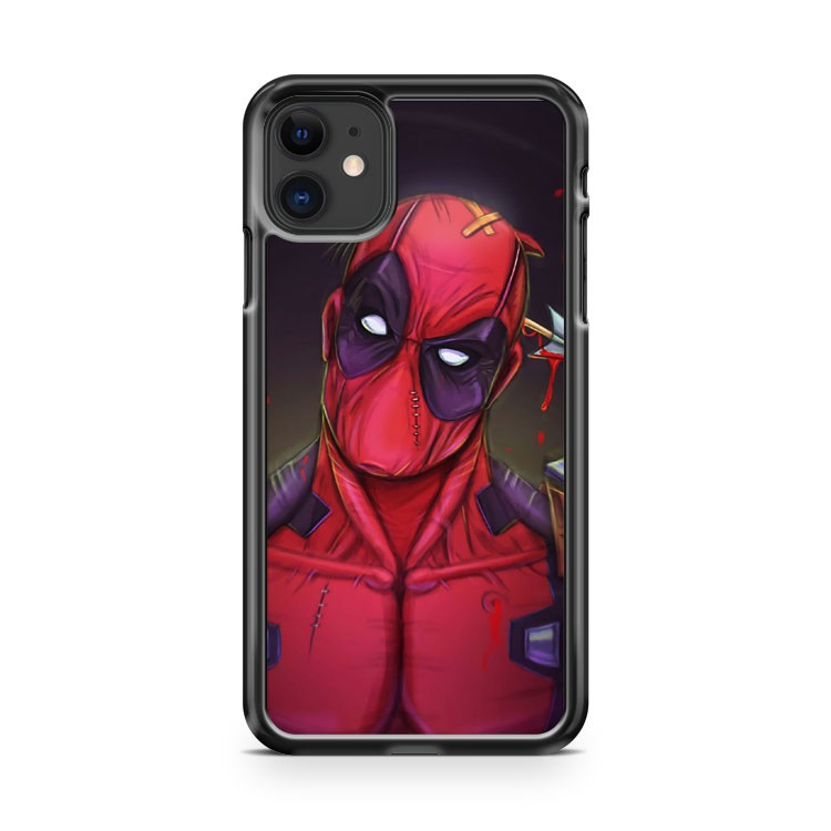 Deadpool Humor iPhone 11 Case Cover | Overkill Inc.
