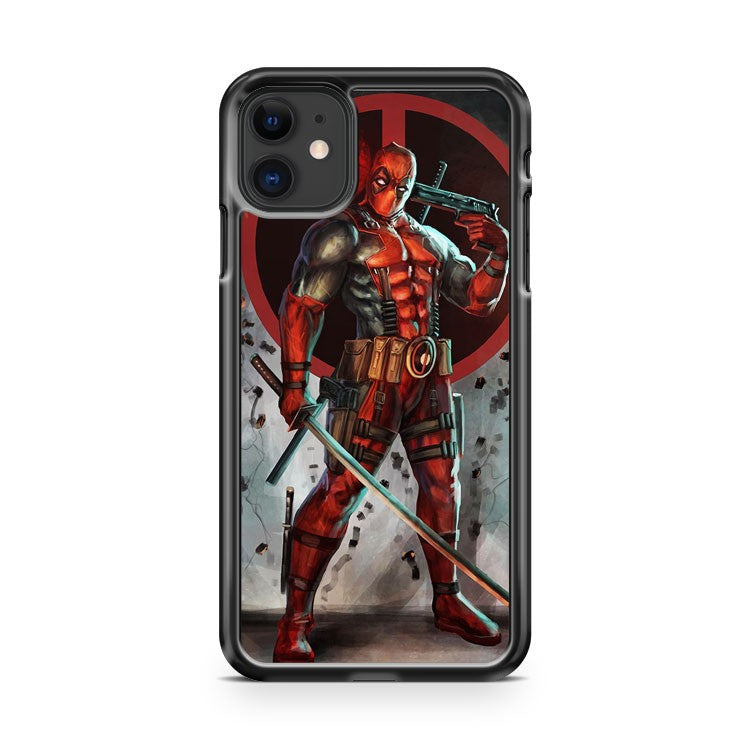 Deadpool Vs Deathstroke iPhone 11 Case Cover | Overkill Inc.