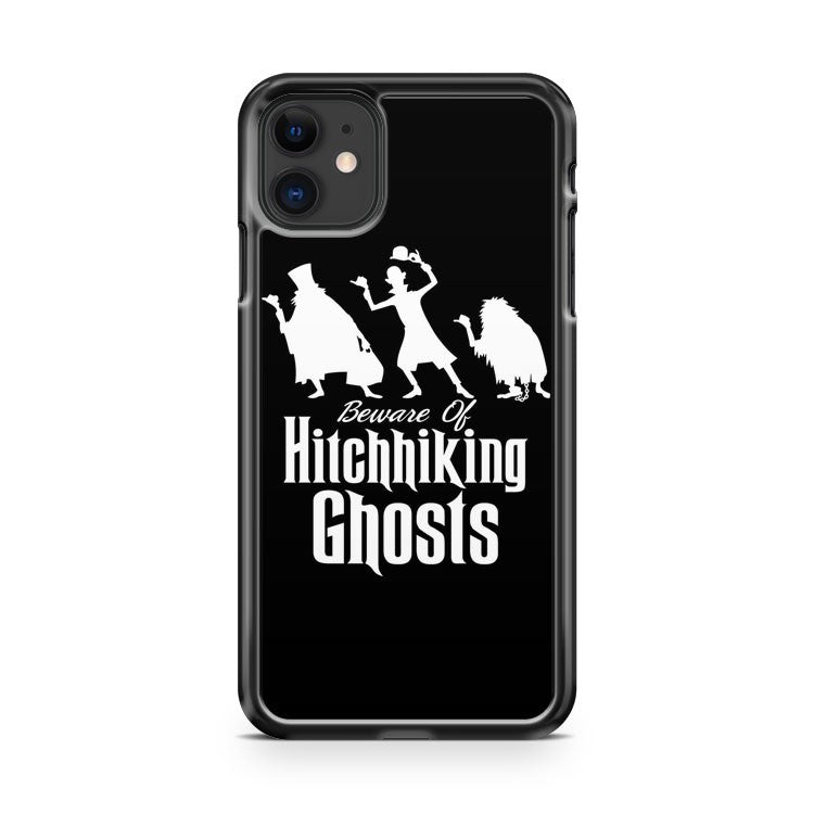 Disney Haunted Mansion Beware Of Hitchhiking Ghost iPhone 11 Case Cover