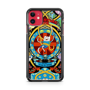A Cool Adventure Time iPhone 11 Case Cover | Overkill Inc.