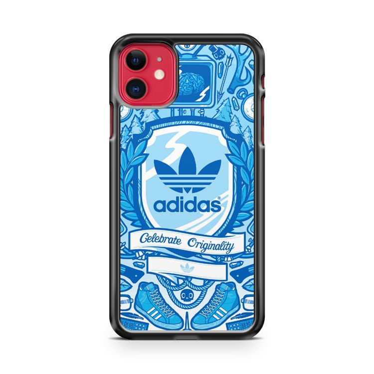 Adidas Skate Neon iPhone 11 Case Cover | Overkill Inc.