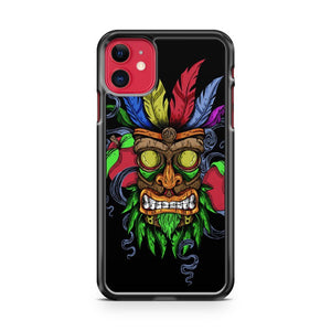 Aku Aku Mask Crash Bandicoot iPhone 11 Case Cover | Overkill Inc.