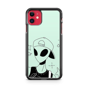 Alien Bang Bang iPhone 11 Case Cover | Overkill Inc.