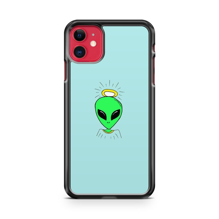 Angel Alien iPhone 11 Case Cover | Overkill Inc.