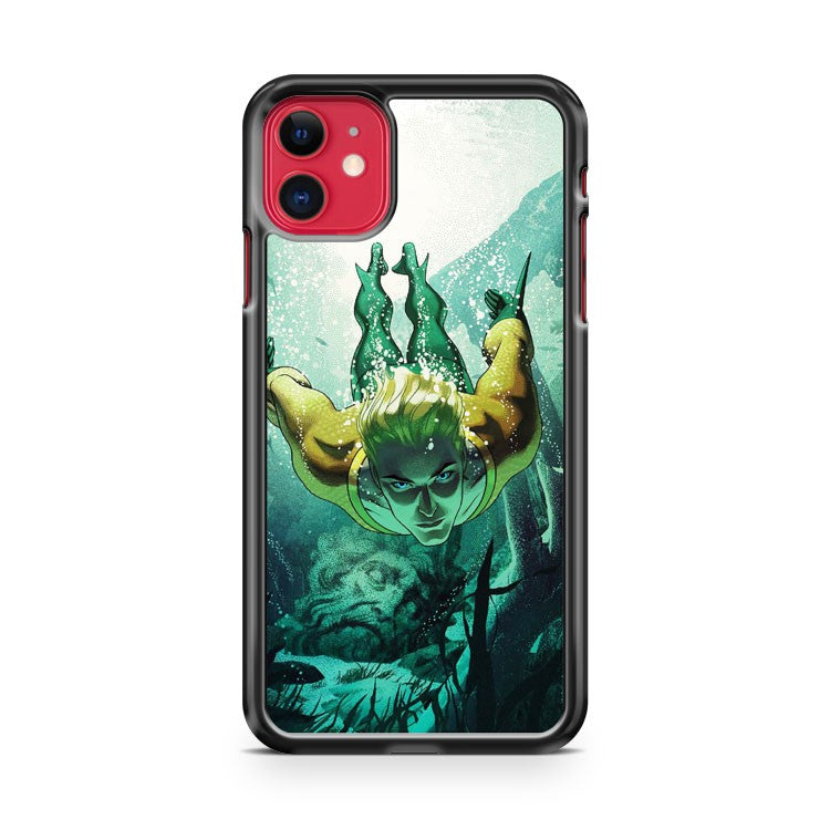 Aquaman The Drowning iPhone 11 Case Cover | Overkill Inc.