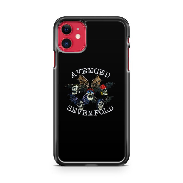 Avenged Sevenfold Symbol iPhone 11 Case Cover | Overkill Inc.