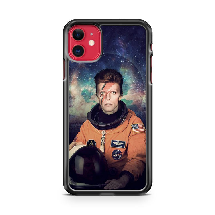 David Bowie Space Oddity iPhone 11 Case Cover | Overkill Inc.
