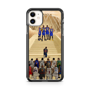 2017 NBA Championship Kd Curry James iPhone 11 Case Cover | Overkill Inc.