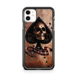 Ace Of Spades Skull iPhone 11 Case Cover | Overkill Inc.