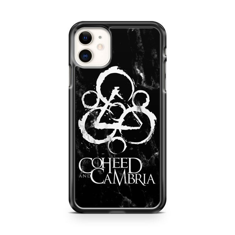 Coheed And Cambria Emblem Black Marble iPhone 11 Case Cover | Overkill Inc.