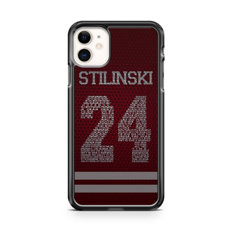 Cool Teen Wolf Stilinski 24 Pattern iPhone 11 Case Cover | Overkill Inc.