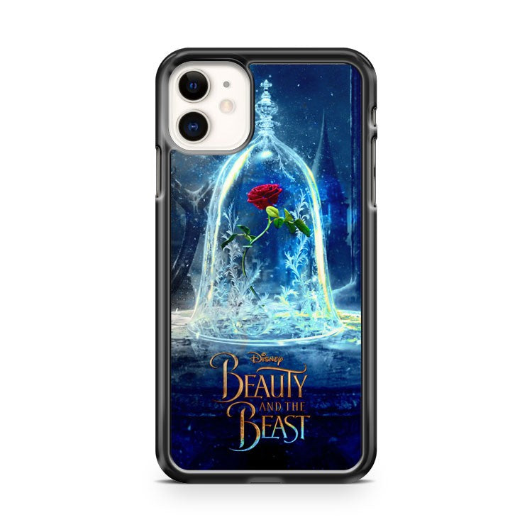 Disney Beauty And The Beast Belle Princess Rose Inspired iPhone 11 Case Cover