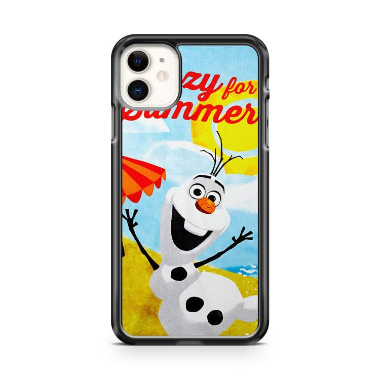 Disney Frozen Olaf Beach Towel iPhone 11 Case Cover