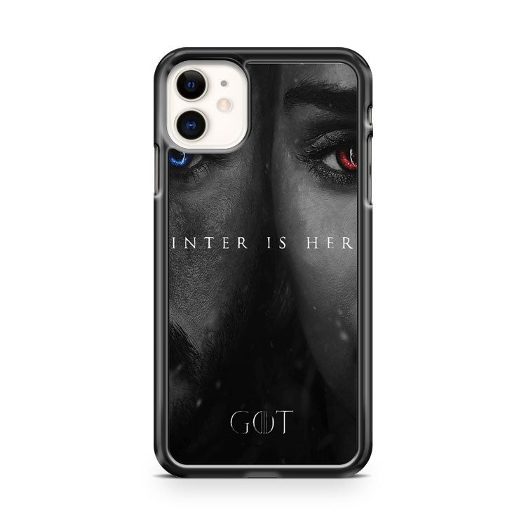 Game Of Thrones Winter Is Here iPhone 11 Case Cover