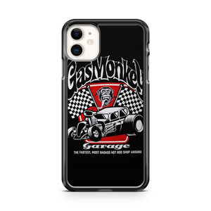 Gas Monkey Garage Badass Spark Plugs Motor Hot Rod iPhone 11 Case Cover