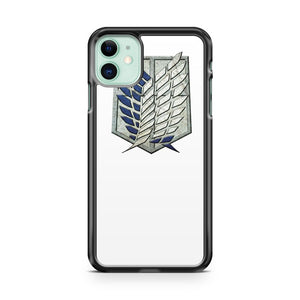Attack On Titan Logo iPhone 11 Case Cover | Overkill Inc.