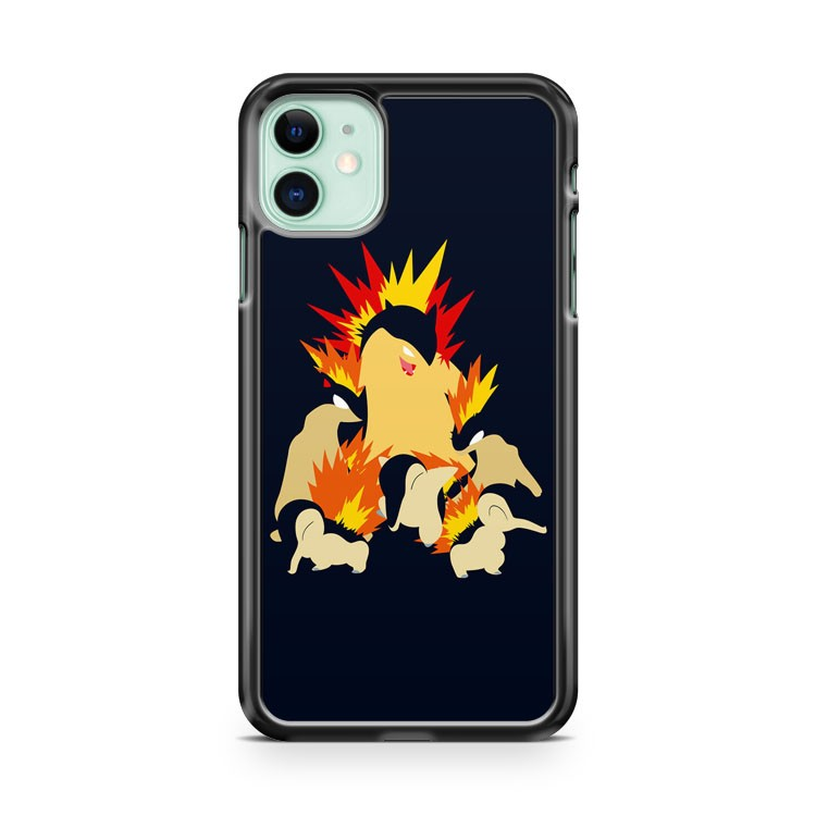Cyndaquil Quilava Typhlosion iPhone 11 Case Cover | Overkill Inc.