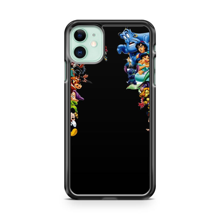 Disney Characters Shocked iPhone 11 Case Cover