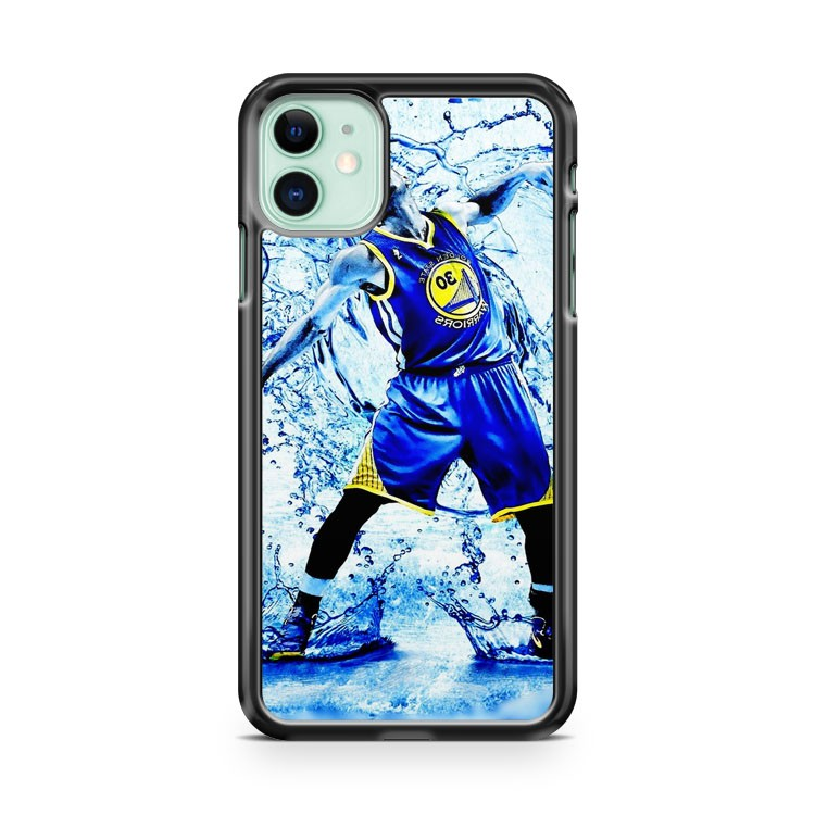 Stephen Curry Fast Break Man iPhone 11 Case Cover