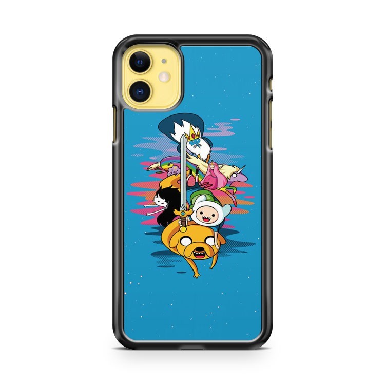Adventure Time Finn And Jake 2 iPhone 11 Case Cover | Overkill Inc.