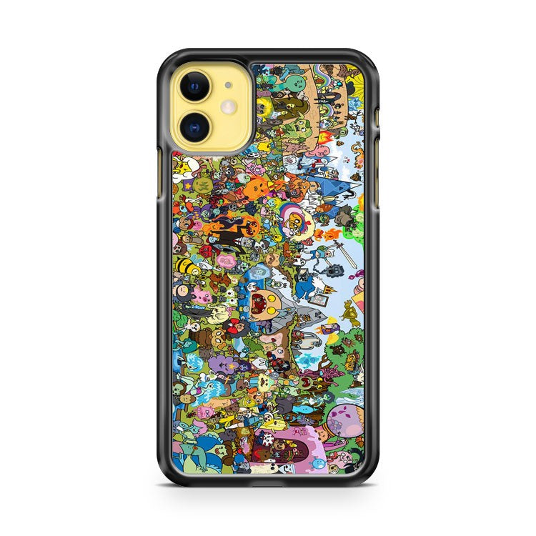 Adventure Time Gel iPhone 11 Case Cover | Overkill Inc.