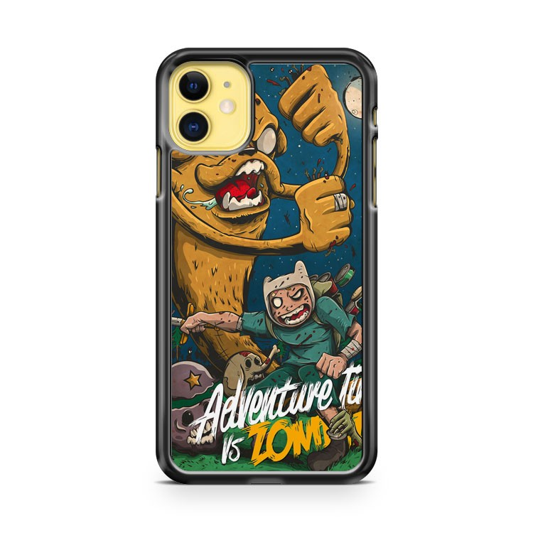 Adventure Time Vs Zombies iPhone 11 Case Cover | Overkill Inc.