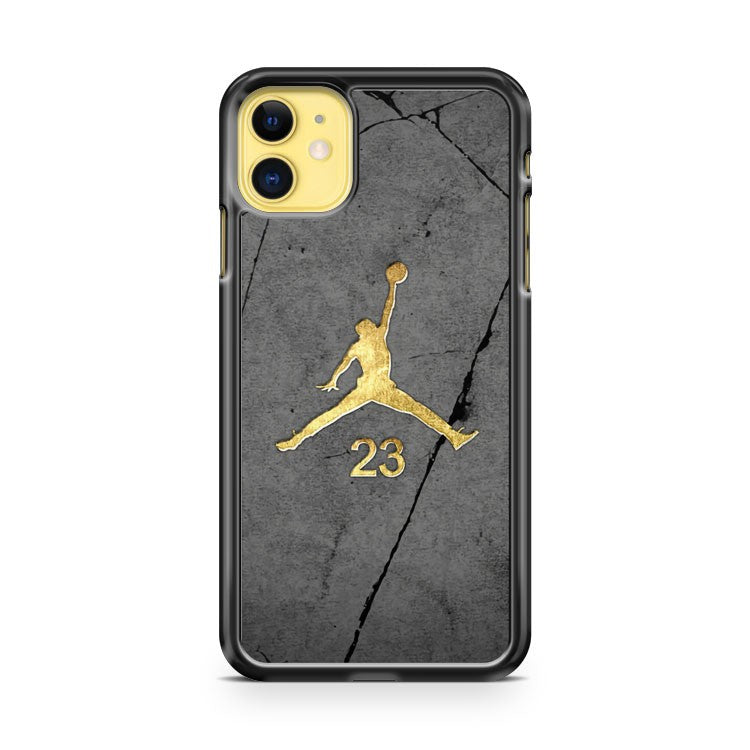 Air Jordan Gold iPhone 11 Case Cover | Overkill Inc.