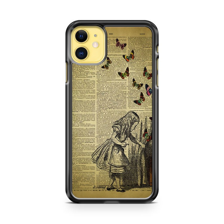 Alice In Wonderland Book iPhone 11 Case Cover | Overkill Inc.