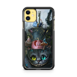 Alice In Wonderland Series Cheshire Cat iPhone 11 Case Cover | Overkill Inc.