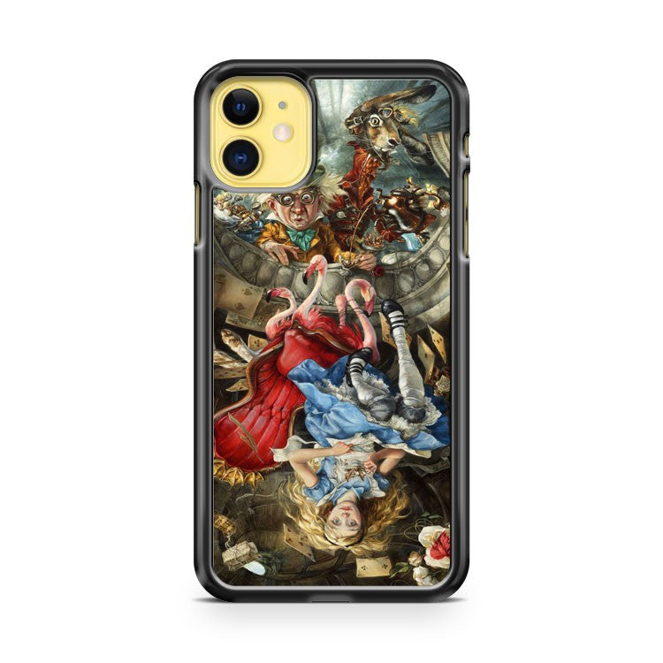 Amazing Alice In Wonderland iPhone 11 Case Cover | Overkill Inc.
