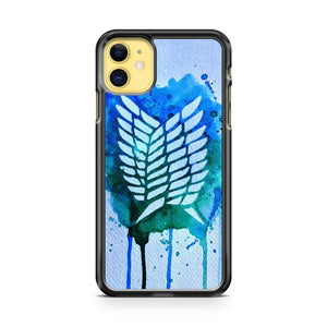 Attack On Titan Logo 3 iPhone 11 Case Cover | Overkill Inc.