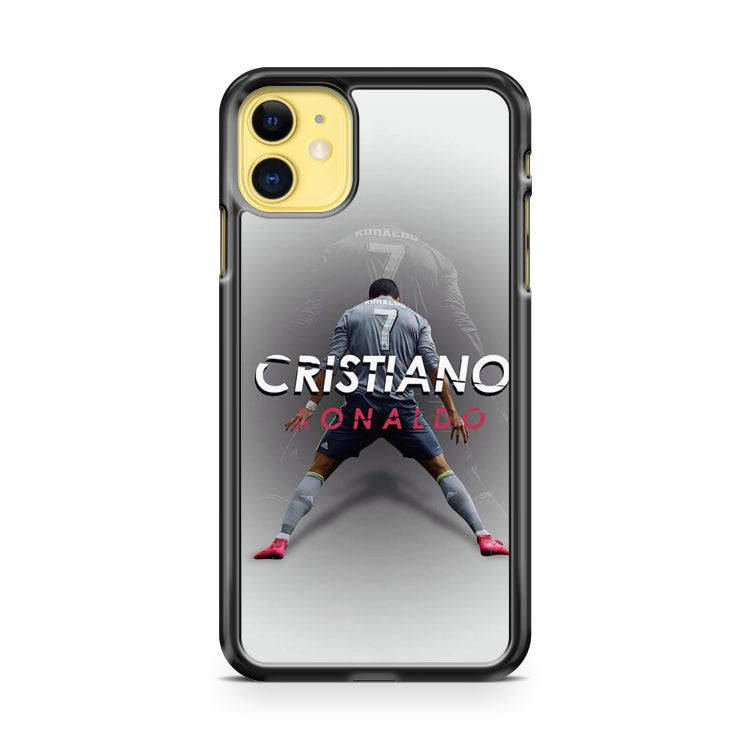 Cristiano Ronaldo Football Soccer iPhone 11 Case Cover | Overkill Inc.