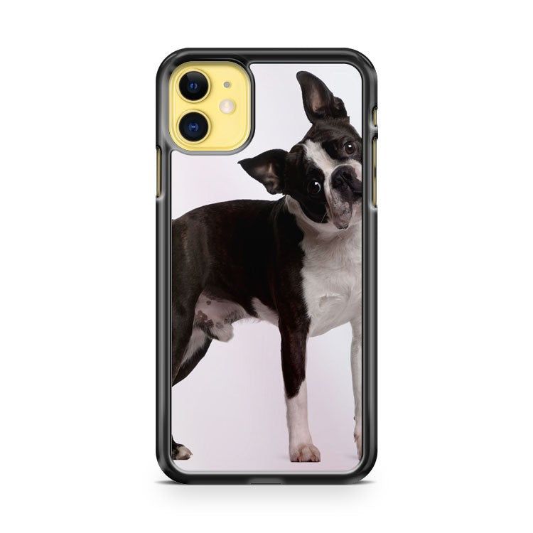 Cute Boston Terrier Dog iPhone 11 Case Cover | Overkill Inc.