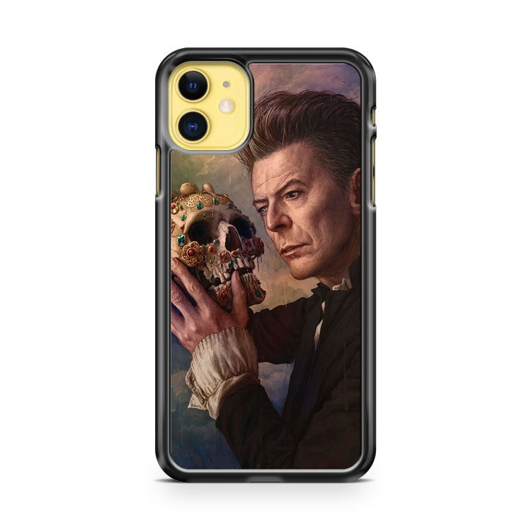 David Bowie Artist Shakespear iPhone 11 Case Cover | Overkill Inc.