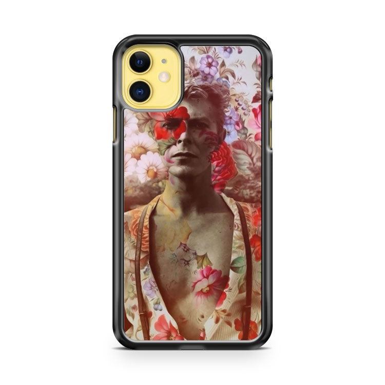 David Bowie Life On Mars Ziggy Stardust iPhone 11 Case Cover | Overkill Inc.