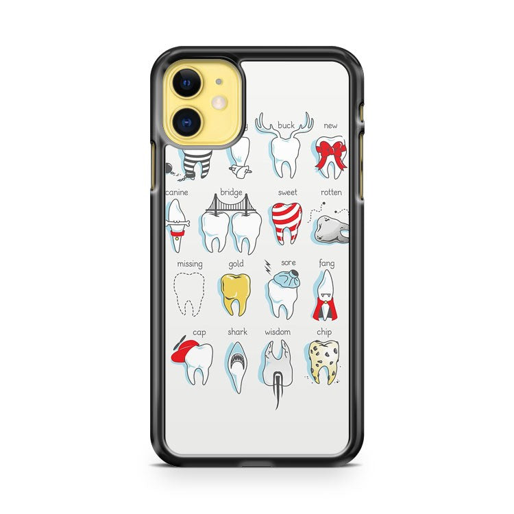 Dental Definitions iPhone 11 Case Cover | Overkill Inc.