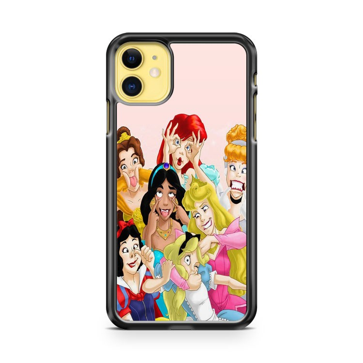 Disney Characters Princess iPhone 11 Case Cover