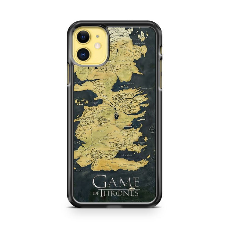 Game Of Thrones Map iPhone 11 Case Cover