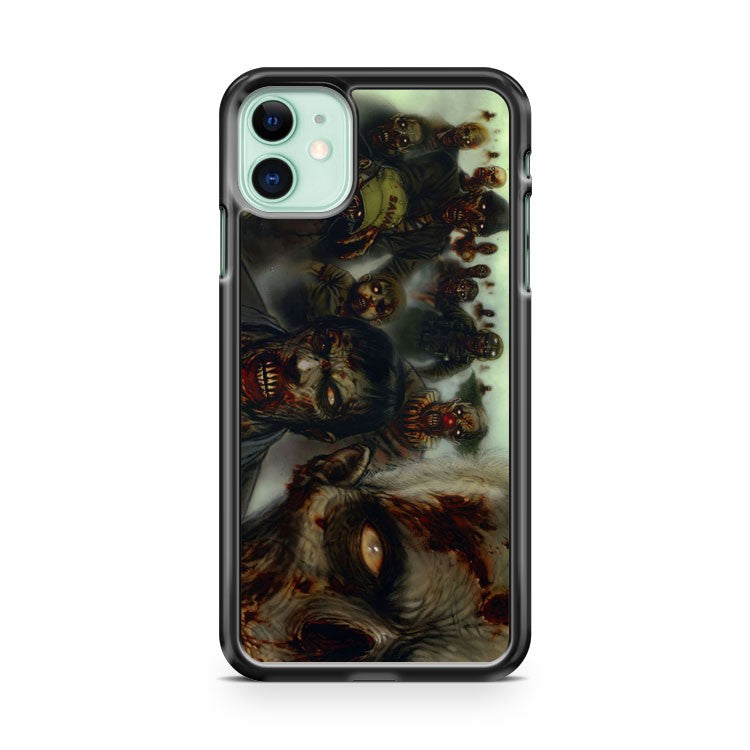 Zombie Shooting Games iPhone 11 Case Cover