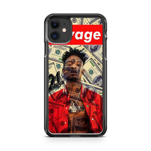 21 Savage 3 iPhone 11 Case Cover | Overkill Inc.