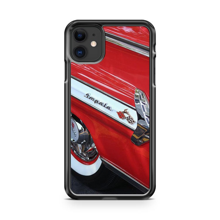 1960 Chevy Impala iPhone 11 Case Cover | Overkill Inc.