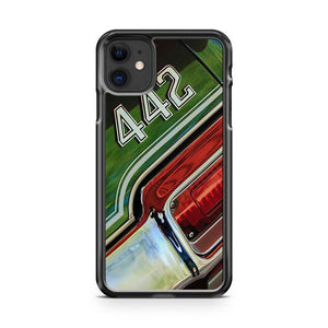 1971 Oldsmobile 442 Taillight Emblem iPhone 11 Case Cover | Overkill Inc.