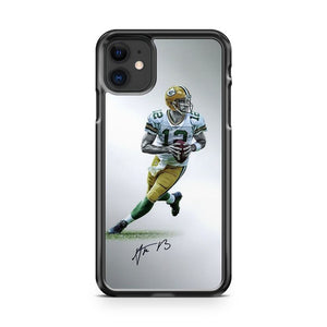 Aaron Rodgers Green Bay Packers 9 iPhone 11 Case Cover | Overkill Inc.